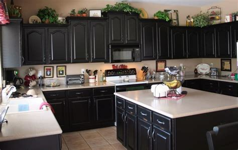 black cabinet kitchen black cabinets