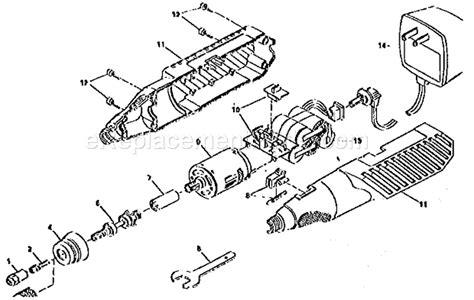 Craftsman 57261007 Rotary Tool Parts Ereplacementparts Com