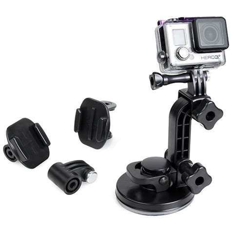 Mount 180 Degree Adapter For Gopro Session Xiaomi Yi Gopro Kogan tmc car suction cup 180 degree mount for gopro xiaomi yi xiaomi yi 2 4k hr233 black