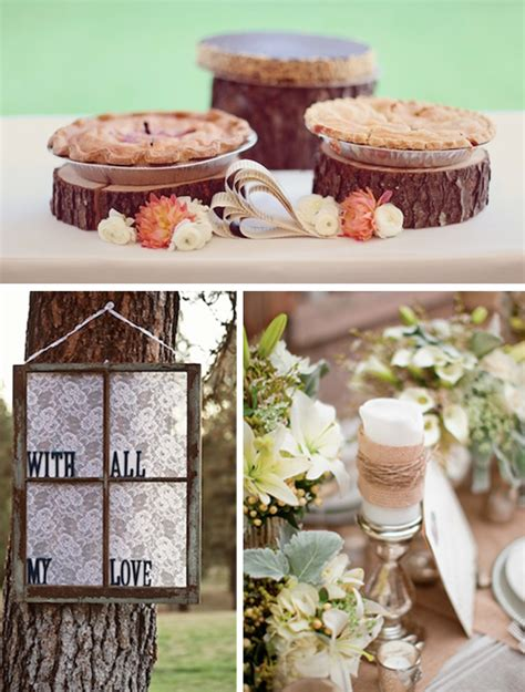 country shabby chic wedding decor shabby chic country wedding ideas