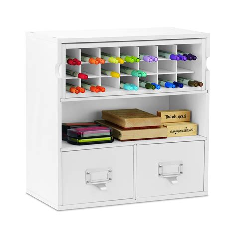 find the desktop organizer with marker storage by ashland