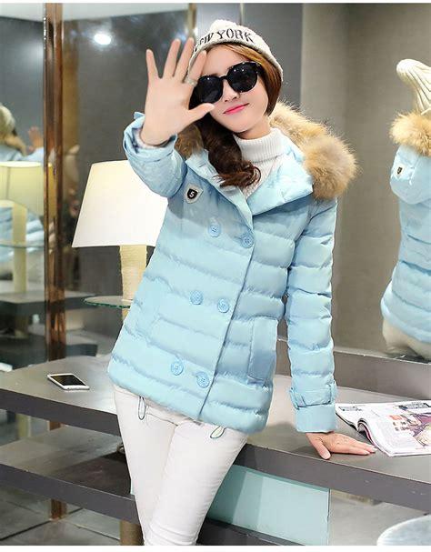 Baju Luar Wanita Hoody Jacket Blue Size L 417934 jaket hoodie bulu wanita korea blue korean hoodie