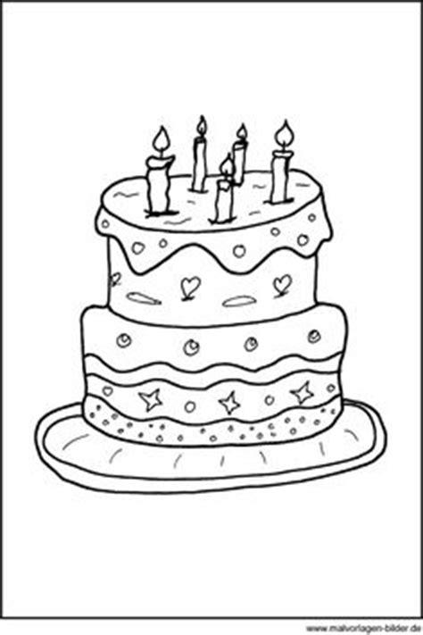 Geburtstagstorten Für Kinder by Ausmalbild Geburtstagstorte Geb
