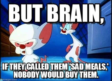 Pinky And The Brain Meme - but brain pinky and the brain meme on memegen