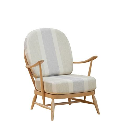 ercol armchair cushions ercol windsor seat cushions chairs seating