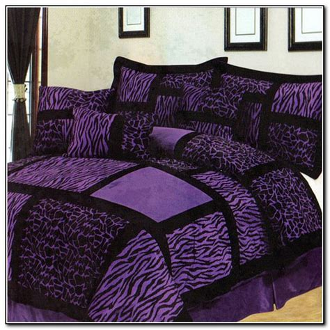 purple zebra bedding purple zebra bedding set beds home design ideas