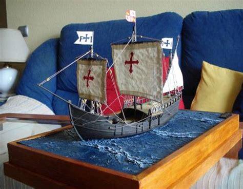 como hacer los tres barcos de cristobal colon diorama de la carabela la pinta taringa