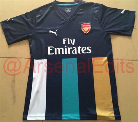 Jersey Arsenal 3rd 2015 2016 arsenal s new 2015 16 third kit leaked looks