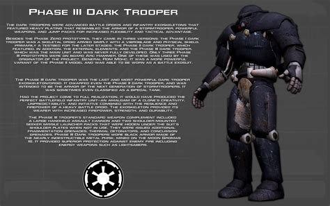 evil class colors unit mods phase iii trooper tech readout new by unusualsuspex