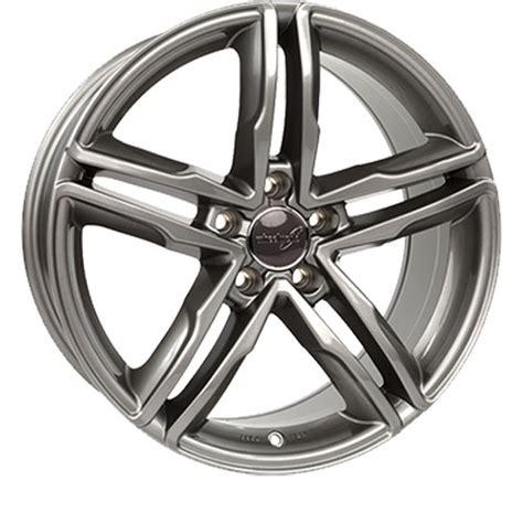 Alufelgen Richtig Lackieren by 4 X Alufelge Wheelworld Wh11 7 5x17 Et37 Daytona Grau