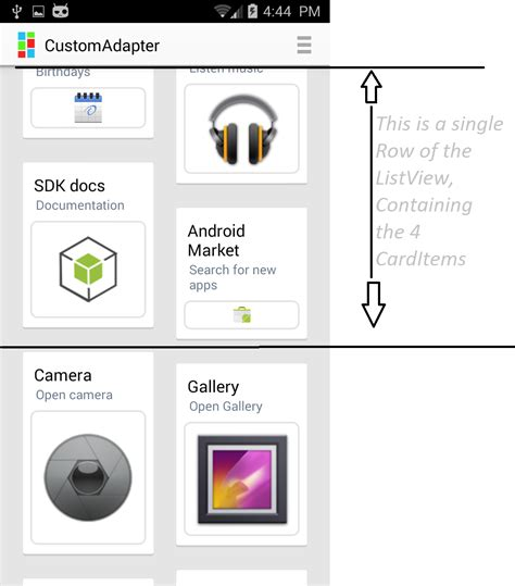 explain layoutinflater in android a custom grid list adapter codeproject