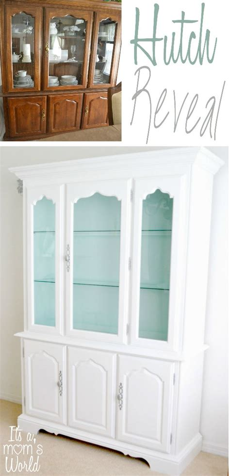 25 best ideas about china cabinet painted on china cabinet redo china hutch redo
