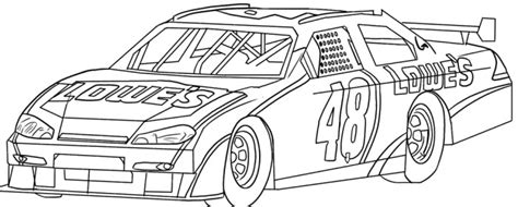 coloring pages of nascar race cars nascar race car sport coloring page race car pinterest