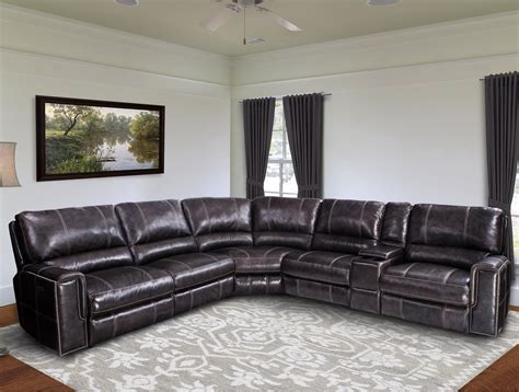 living room furniture ma jerome casual power reclining sectional sofa with power headrests and usb ports rotmans