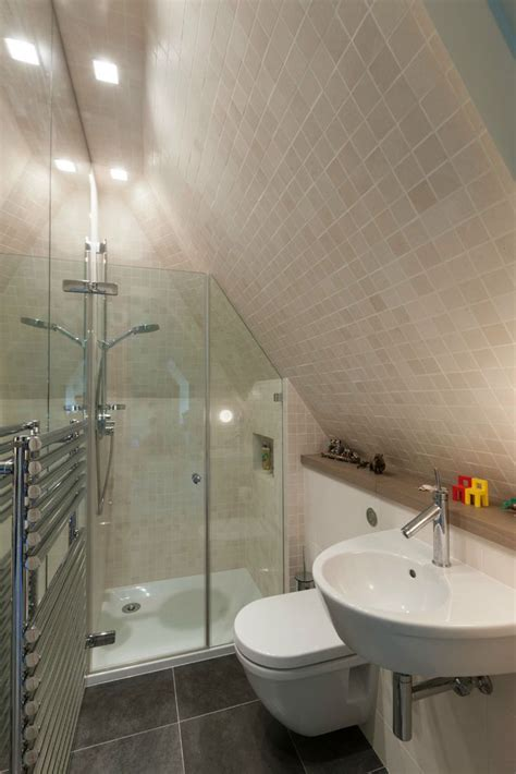 Tiny Bathrooms With Shower 15 Attics Turned Into Breathtaking Bathrooms