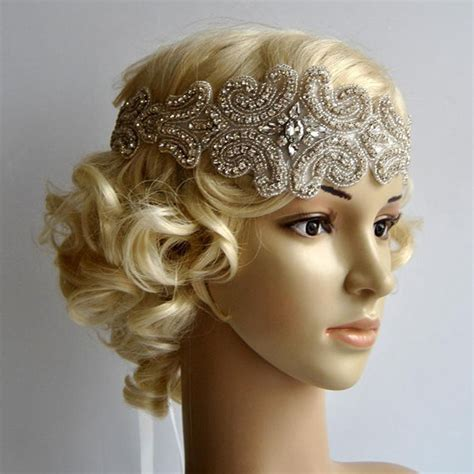 Gatsby Headpieces | wholesale great gatsby bridal headpiece bridal rhinestone