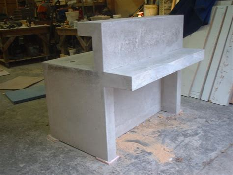 Concrete Reception Desk Concrete Reception Desk For An Concrete Planters