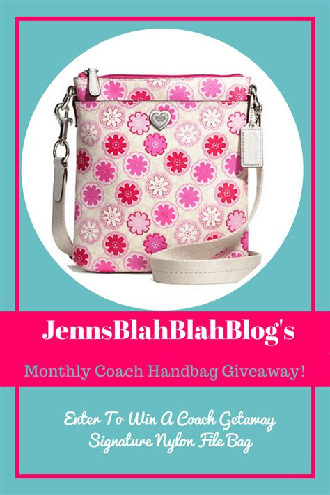 Handbag Giveaway - coach floral print swingpack handbag giveaway ends 4 28 everything mommyhood