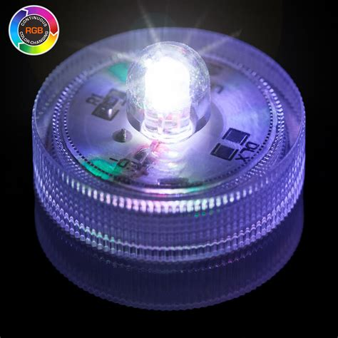 Rgb Color Changing Submersible Led Light Led Lights Colour Changing