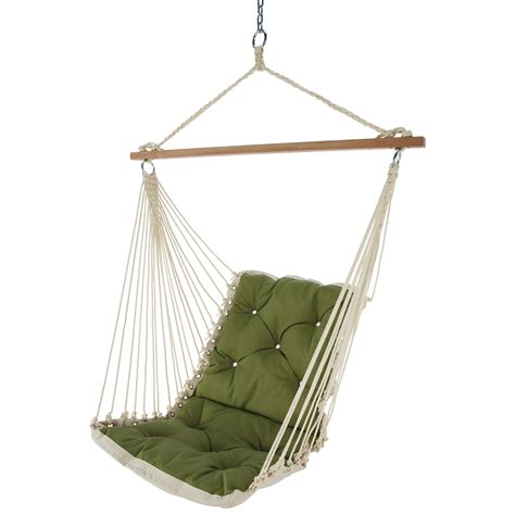 hammock swing spectrum cilantro tufted single hammock swing