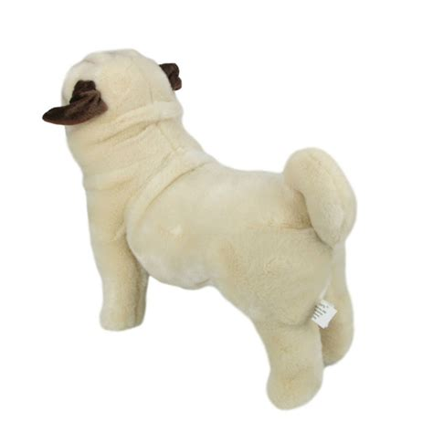 size pug stuffed animal pug standing stuffed animal pugley 16 quot 40cm soft plush bocchetta new ebay