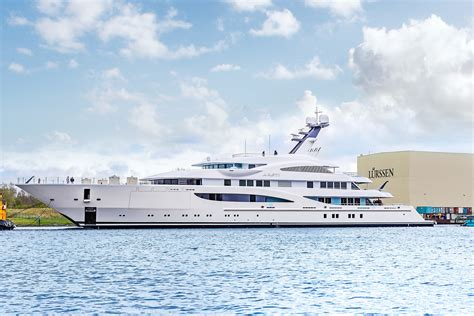 yacht areti 85m areti launched by lurssen yacht harbour