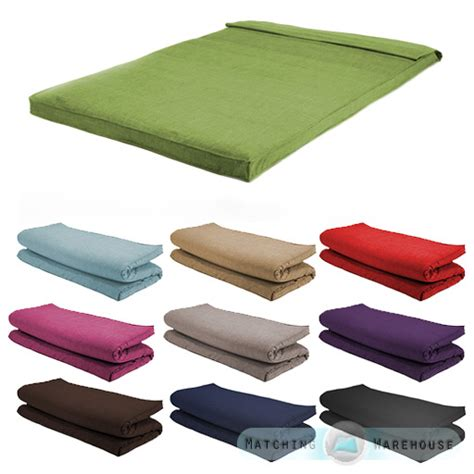 fabric size futon mattress folding foam filled