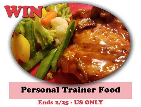Food Giveaway Today - personal trainer food giveaway heartthis recipeideas