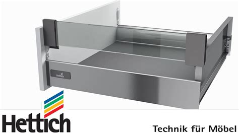innenauszug schublade innotech schubkastensystem bau montage und verstellung