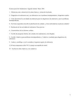 MODELO RECIBO Y ENTREGA DE TURNO, NOTAS DE ENFERMERÍA