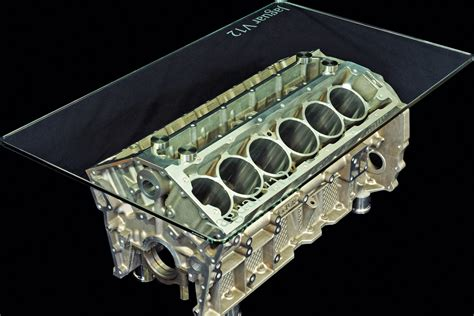jaguar v12 coffee table auto express
