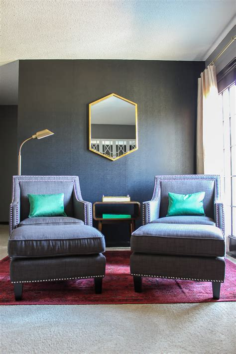 master bedroom sitting area makeover