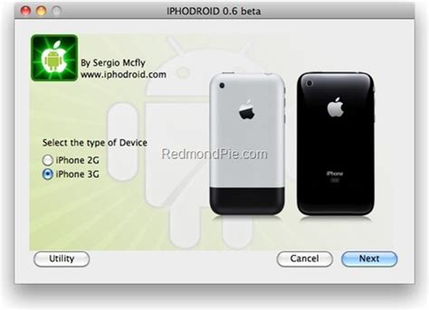 install android on iphone install android on iphone 2g and iphone 3g with iphodroid redmond pie