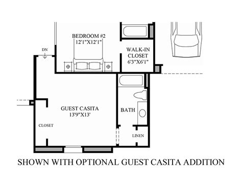 casita floor plans az reserve at tranquil trail the montilla home design