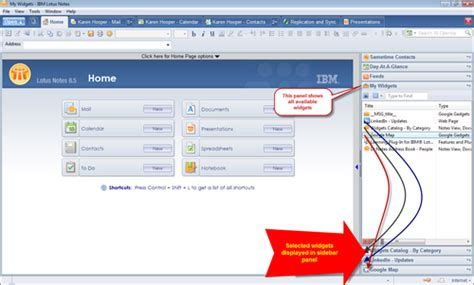 lotus notes user guide widgets are where ibm lotus notes 8 5 user guide book