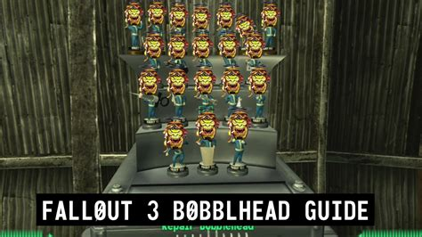 bobblehead list fallout 3 fallout 3 bobblehead location guide