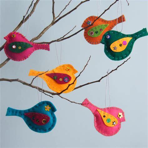 pattern for felt bird mobile felt bird kit felt