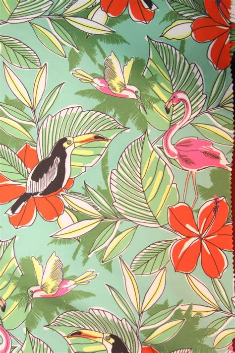 tropical fabric prints for upholstery mpdclick ss14 prints trends acton fabrics tropical