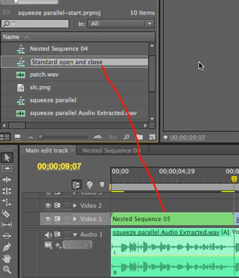 adobe premiere pro nesting video tutorial three workflow enhancing tips in adobe