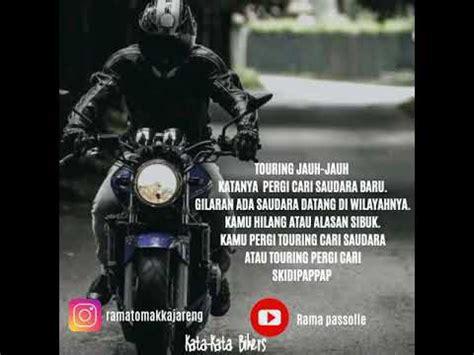 kata kata bikers youtube