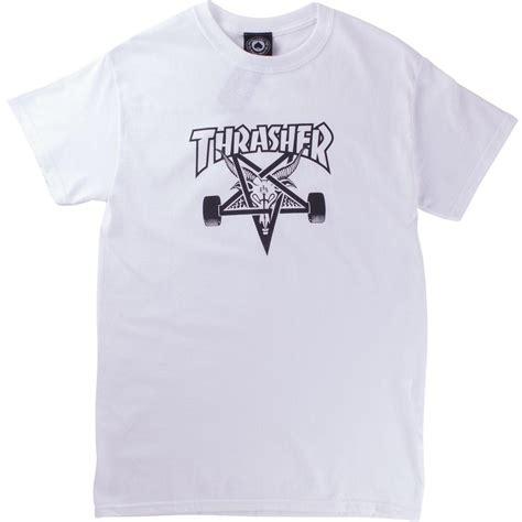 Tshirt Thrasher White thrasher skategoat white brands24