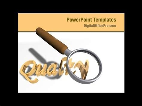 quality control powerpoint template backgrounds