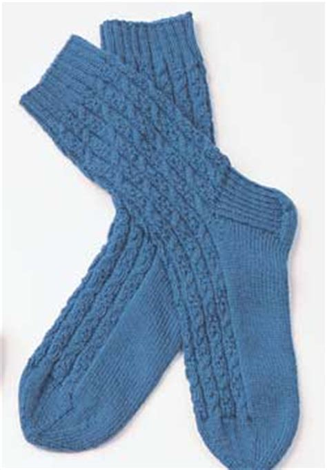 free knitting pattern for mens socks cable socks for knitting pattern favecrafts