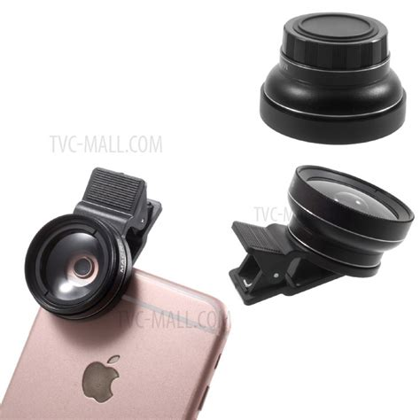 Universal Cl For Smartphone With 025 Inch Small B 2010 universal clip on 37mm 0 45x wide angle lens macro lens