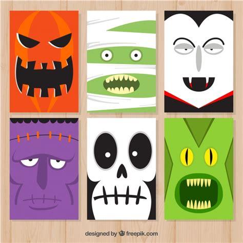 imagenes monstruos halloween tarjetas de halloween con monstruos graciosos descargar
