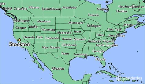 california map stockton where is stockton ca stockton california map