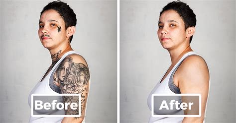 free tattoo removal for ex gang members ex members with their tattoos removed