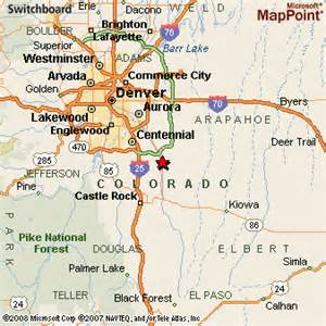 Parker Colorado Map by Web Design Parker Colorado Web Best Home And House