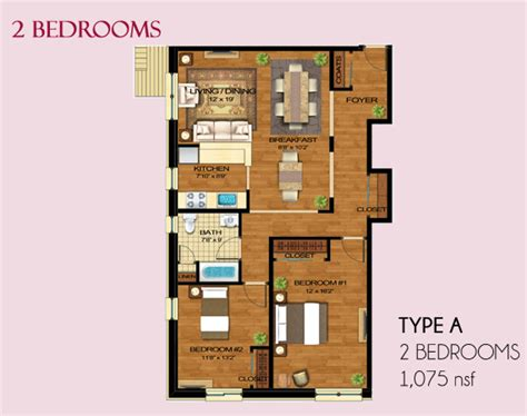 luxury apartments floor plans