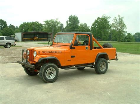 Jeep Scramblers For Sale Who Wants It 1984 Jeep Scrambler For Sale